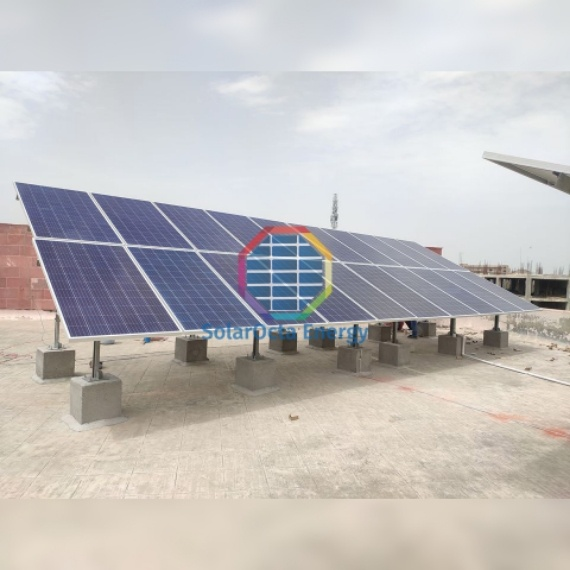 low rise solar install